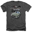 Chevy Shirt Chevrolet 1967 Classic Camaro Heather Charcoal T-Shirt