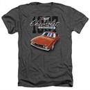 Chevy Shirt Chevrolet 1967 Red Classic Camaro Heather Charcoal T-Shirt