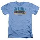 Chevy Shirt Malibu Heather Light Blue T-Shirt