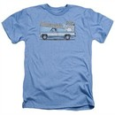 Chevy Shirt Silverado Heather Light Blue T-Shirt