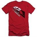 Chevy Slim Fit Shirt Split Window Stingray Red T-Shirt