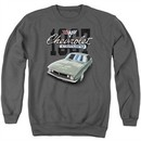 Chevy Sweatshirt Chevrolet 1967 Classic Camaro Adult Charcoal Sweat Shirt