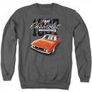 Chevy Sweatshirt Chevrolet 1967 Red Classic Camaro Adult Charcoal Sweat Shirt
