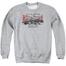 Chevy Sweatshirt El Camino SS Adult Sports Grey Sweat Shirt