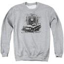 Chevy Sweatshirt Monte Carlo Adult Sports Grey Sweat Shirt
