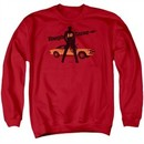 Chevy Sweatshirt Tough To Tame Adult Red Sweat Shirt