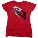 Chevy Womens Shirt Split Window Stingray Red T-Shirt