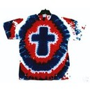 Christian Nation Mens Tie Dye T-shirt