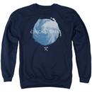 Circa Survive Sweatshirt Storm Adult Navy Blue Sweat Shirt