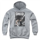 Creed Kids Hoodie Movie Poster Athletic Heather Youth Hoody