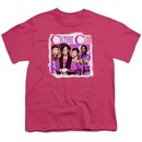 Culture Club Kids Shirt Band Photo Hot Pink T-Shirt