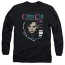 Culture Club Long Sleeve Shirt Color By Numbers Black Tee T-Shirt