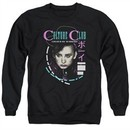 Culture Club Sweatshirt Color By Numbers Adult Black Sweat Shirt