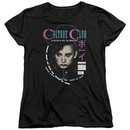 Culture Club Womens Shirt Color By Numbers Black T-Shirt