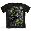 Curious Black Bear Shirt Tie Dye Adult T-Shirt Tee