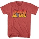 Danger Mouse Shirt Bomb Red Heather T-Shirt