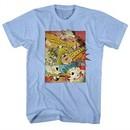 Danger Mouse Shirt Comic Strip Light Blue T-Shirt