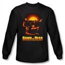 Dawn Of The Dead T-shirt Movie Dawn Collage Black Long Sleeve Shirt