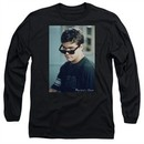 Dawson's Creek Long Sleeve Shirt Cool Pacey Black Tee T-Shirt