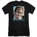 Dawson's Creek Slim Fit Shirt They're Just Words Black T-Shirt