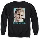 Dawson's Creek Sweatshirt They're Just Words Adult Black Sweat Shirt