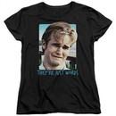 Dawson's Creek Womens Shirt They're Just Words Black T-Shirt