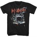 Def Leppard Shirt Semi Truck Black T-Shirt