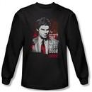 Dexter Shirt Boy Next Door Black Long Sleeve T-Shirt Tee