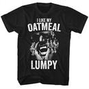 Digital Underground Shirt I Like My Oatmeal Lumpy Black T-Shirt