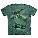 Dinosaur Kids Shirt Tie Dye Collage T-shirt Tee Youth