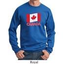 Distressed Canada Flag Sweatshirt