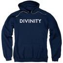 Divinity Hoodie Logo Navy Sweatshirt Hoody