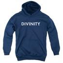 Divinity Kids Hoodie Logo Navy Youth Hoody