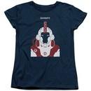 Divinity Womens Shirt Helmet Navy T-Shirt