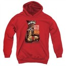 Doctor Mirage Kids Hoodie Talks To The Dead Red Youth Hoody