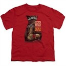 Doctor Mirage Kids Shirt Talks To The Dead Red T-Shirt
