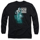 Doctor Mirage Long Sleeve Shirt Crossing Over Black Tee T-Shirt