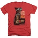 Doctor Mirage Shirt Talks To The Dead Heather Red T-Shirt