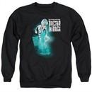 Doctor Mirage Sweatshirt Crossing Over Adult Black Sweat Shirt