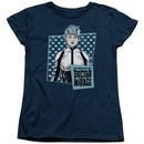 Doctor Mirage Womens Shirt Good Doctor Navy T-Shirt