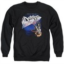 Dokken Sweatshirt Tooth And Nail Adult Black Sweat Shirt