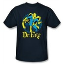 Dr. Fate Kids T-shirt ? ANKH DC Comics Navy Blue Tee Youth