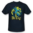 Dr. Fate T-shirt ? ANKH DC Comics Adult Navy Blue Tee