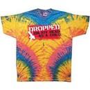 Funny Shirt Dropped On My Head Woodstock Tie Dye Tee Shirt