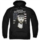 Duck Dynasty Hoodie Willie Robertson Black Sweatshirt Hoody