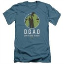 Duck Dynasty Slim Fit Shirt D.G.A.D. Slate Blue T-Shirt