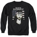 Duck Dynasty Sweatshirt Willie Robertson Adult Black Sweat Shirt