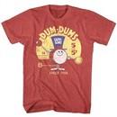 Dum Dums Shirt Drum Man Ad Red Heather T-Shirt