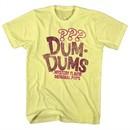 Dum Dums Shirt Mystery Flavor Yellow T-Shirt