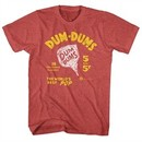 Dum Dums Shirt The Worlds Best Pop Heather Red T-Shirt